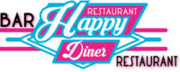 logo happy diner