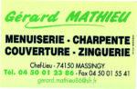 Charpente Gérard Mathieu