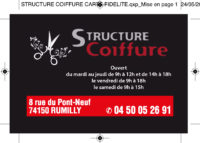 Structure Coiffure MS